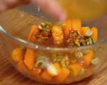 Салата от моркови с маслини и мента 9