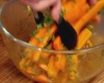 Салата от моркови с маслини и мента 10