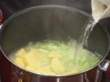 Студена супа от праз с естрагон 2