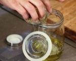 Шишчета с мариновано сирене 2