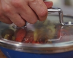 Лятна салата с печени чушки 2