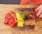 Лятна салата с печени чушки 3