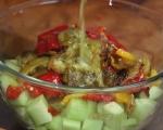 Лятна салата с печени чушки 5