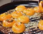 Сладкиш с крем сирене и кайсии 9