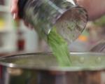 Зелен ориз с миди и скариди 5