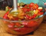 Патладжанени рула в сос от домати и чушки 2