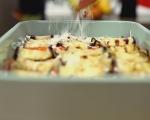 Патладжанени рула в сос от домати и чушки 7