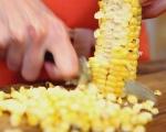 Салата от миди и печена царевица 4