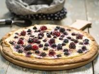 Сладка пица с плодове