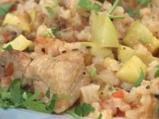 Свинско с ориз и тиквички