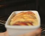 Кекс с праскови и лавандула 6