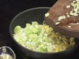 Тортиля с праз и печурки 2