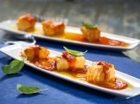 Поширана риба в доматен сос