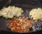Палачинки с царевица и бекон 6