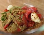 Палачинки с царевица и бекон 7