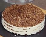 Сладоледена торта с карамел 10