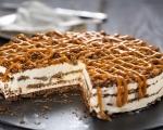 Сладоледена торта с карамел 11
