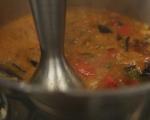 Супа от патладжани и домати 5