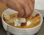 Супа от патладжани и домати 8