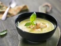 Студена супа от зелени чушки