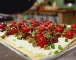 Тарт с домати и маслини 6