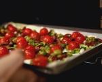 Тарт с домати и маслини 7
