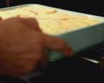 Хлебен пудинг с боровинки 6
