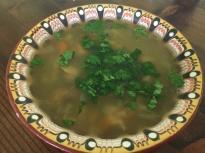 Супа от гъби манатарки