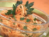 Салата от моркови с ябълка и млечен м...