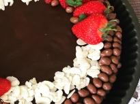 """Шоколадово-портокалова мус торта """"Линд"""""""