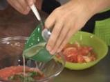 Кошнички от броколи с доматен мус 2