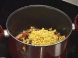 Телешки ивици с фасул и царевица 4