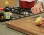 Картофени кюфтета с риба и майонезен сос