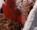 Шоколадов сладкиш с кестени 4