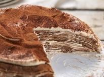 """Палачинкова торта """"Тирамису"""""""