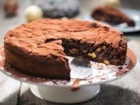 Коледен шоколадов кейк