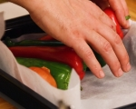 Шакшука с печени зеленчуци  2