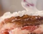 Кокосова торта с ягоди 14