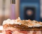 Кокосова торта с ягоди 15