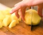 Свински джолан с намачкани картофи 6