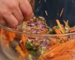 Салата с моркови и авокадо 5