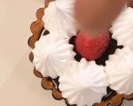 Шоколадови тарталети с плодове 7