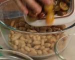 Бобена салата с риба и домати  7
