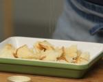 Печени ябълки с ванилов сос 3