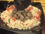 Кебап с патладжан и шилешко с доматен пилаф 7