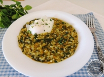 Коприва с ориз и яйца