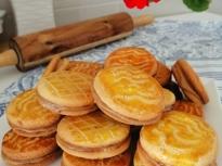 Бисквити с фъстъчен крем