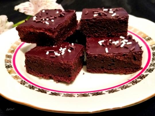 Браунис с кафява захар