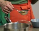 Спагети със спанак и поширано яйце  6