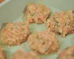 Пилешки  кюфтета с къри майонеза  5